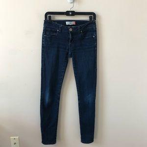 Cabi Dark Wash Skinny Jean Style #3040-  Size 0